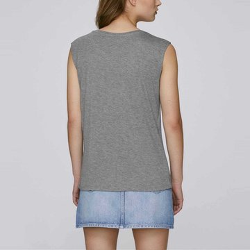 Tee shirt débardeur femme fluide ample modal