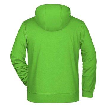 hoodie homme vert